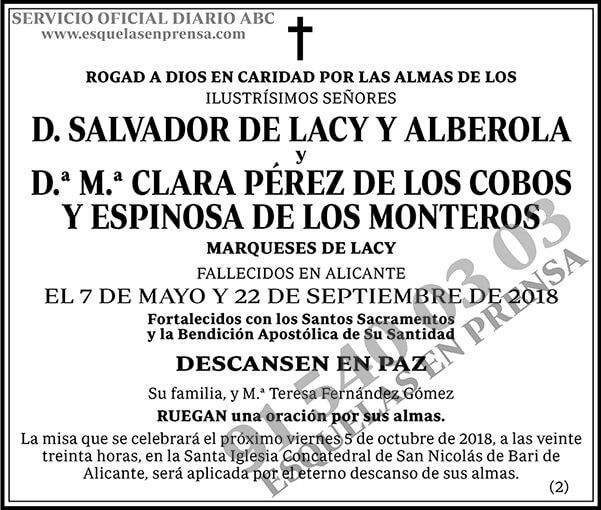 Salvador de Lacy y Alberola